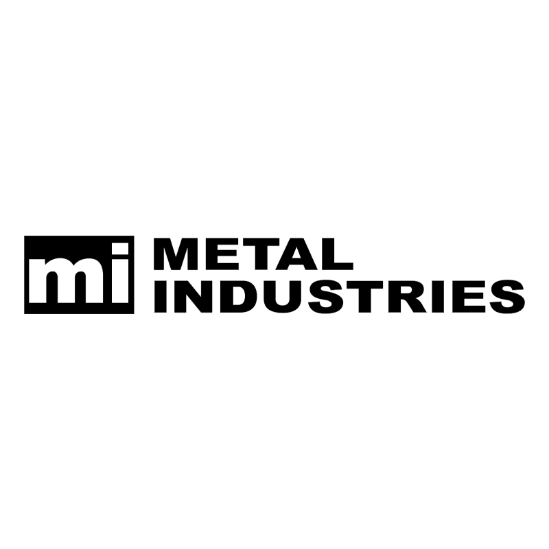 Metal Industries vector