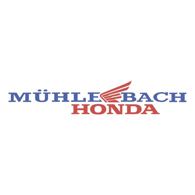 Muhle Bach Honda vector