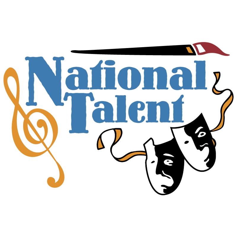 National Talent vector logo