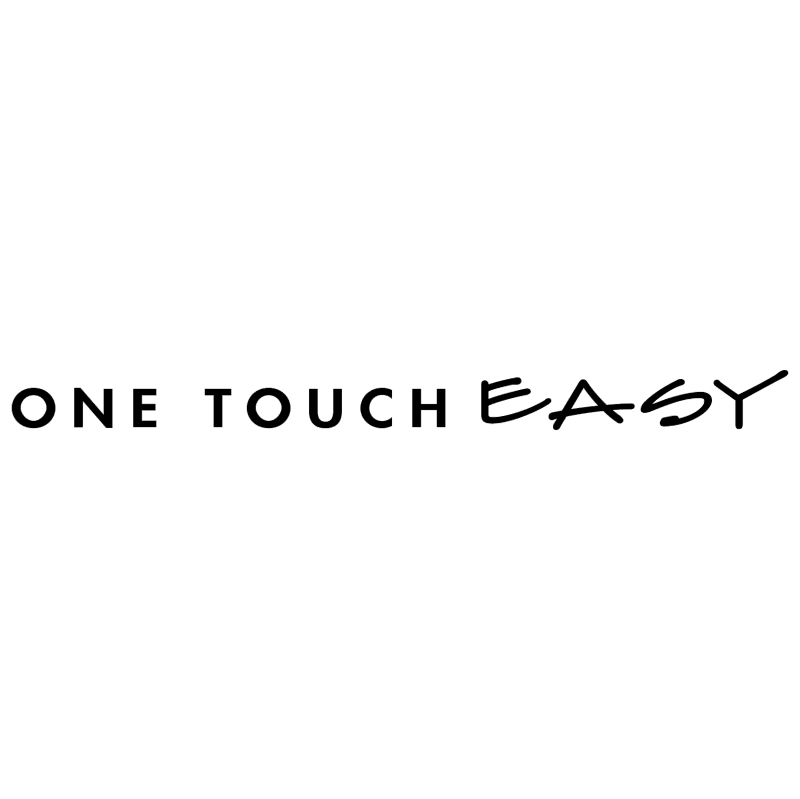 One Touch Easy vector