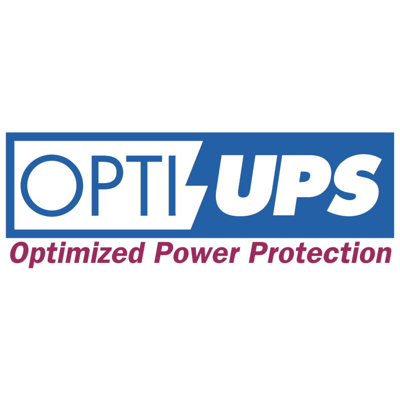 Opti UPS vector