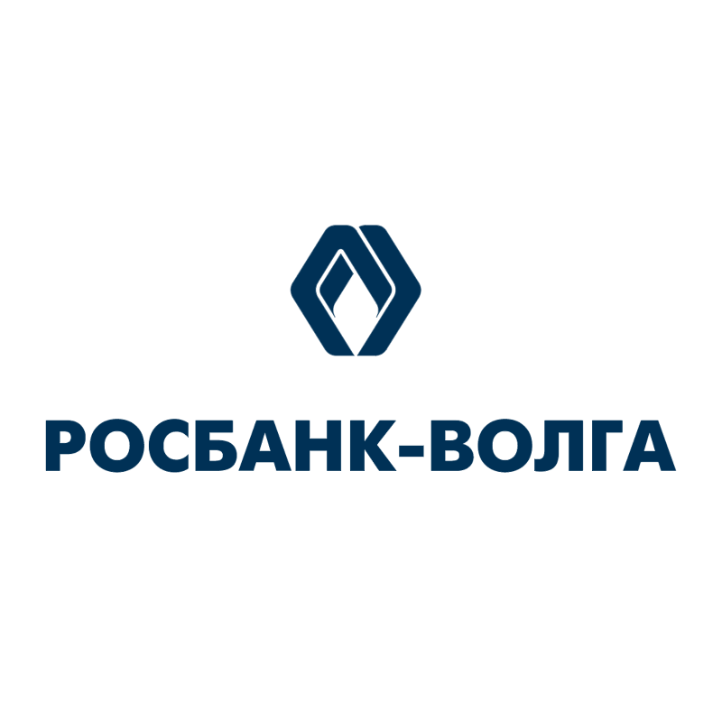Rosbank Volga vector logo