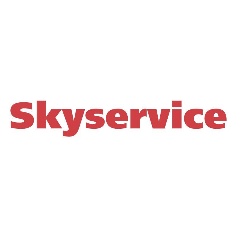 Skyservice vector