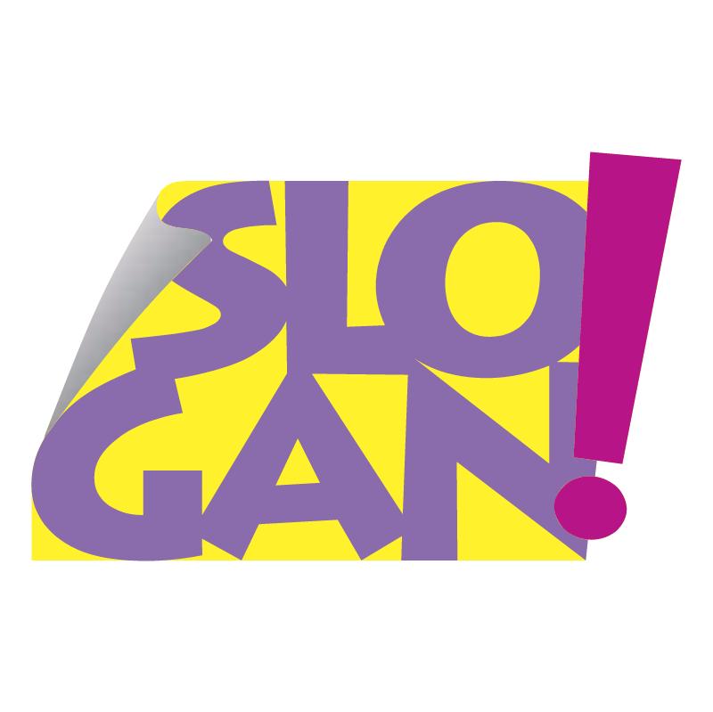 SLOGAN Design vector