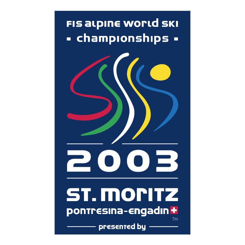 St Moritz 2003 vector