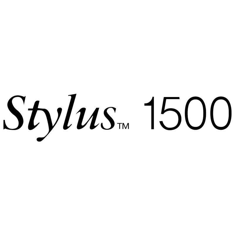 Stylus 1500 vector