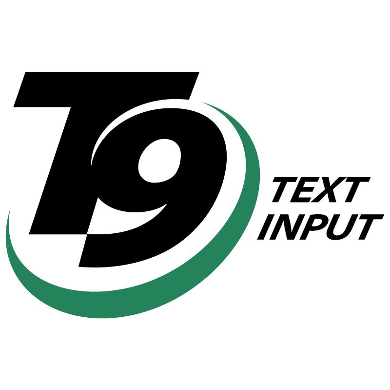 T9 Text Input vector