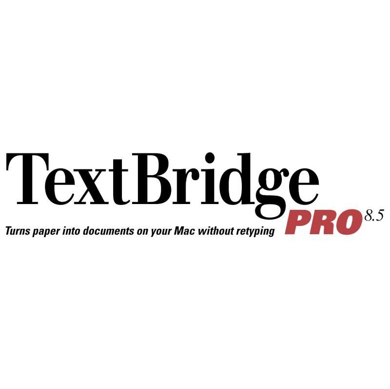 TextBridge Pro vector