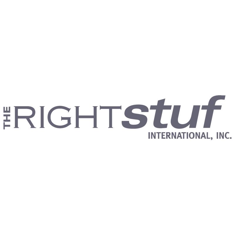 The Right Stuf International vector