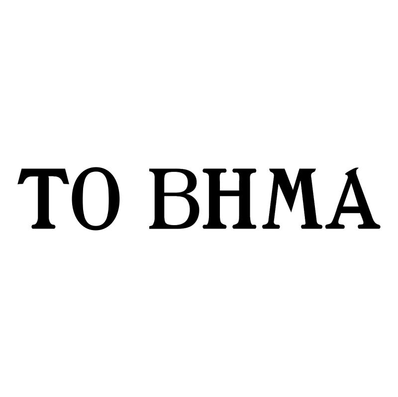 TO BHMA vector logo