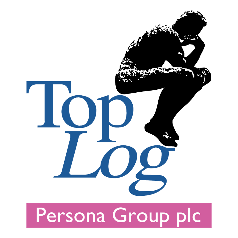 Top Log Persona Group vector