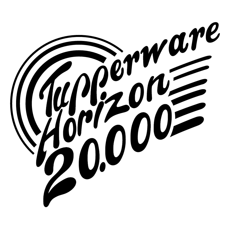 Tupperware Horizon 20 000 vector