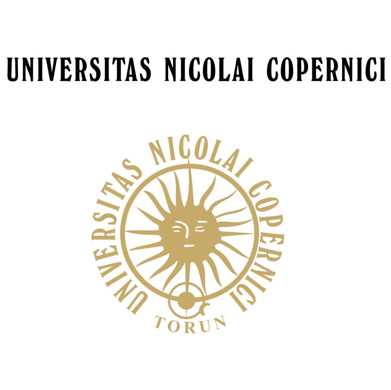 Universitas Nicolai Copernici vector logo