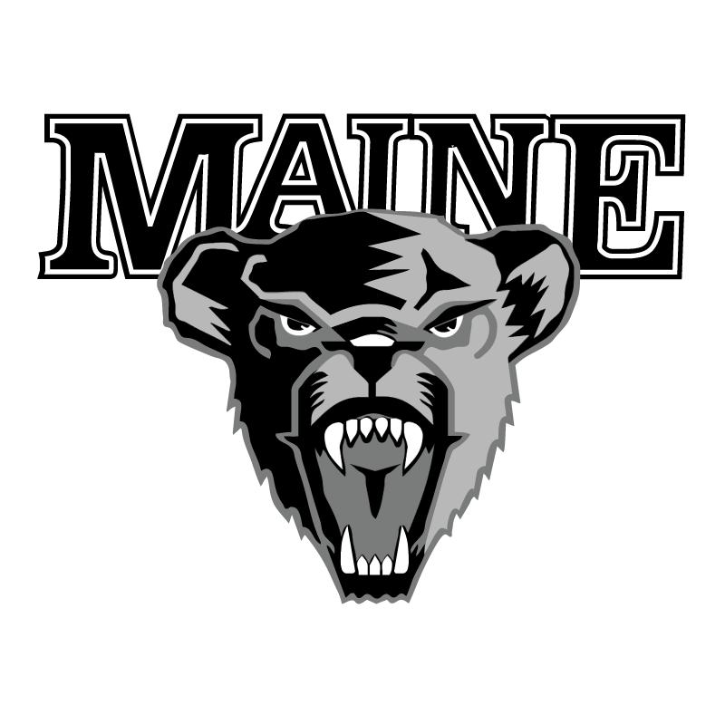 University of Maine Hockey vector