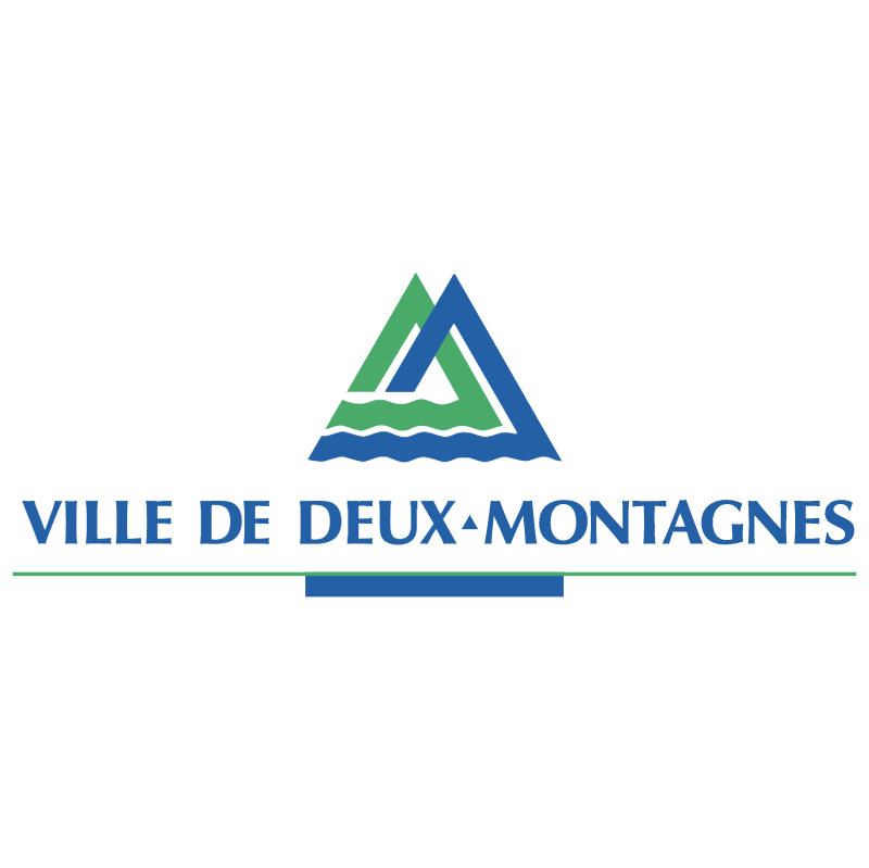 Villes de Deux Montagnes vector logo