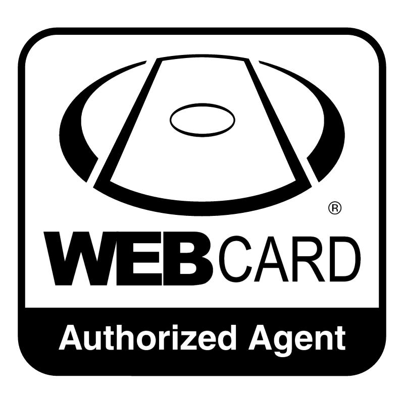 WEBcard vector