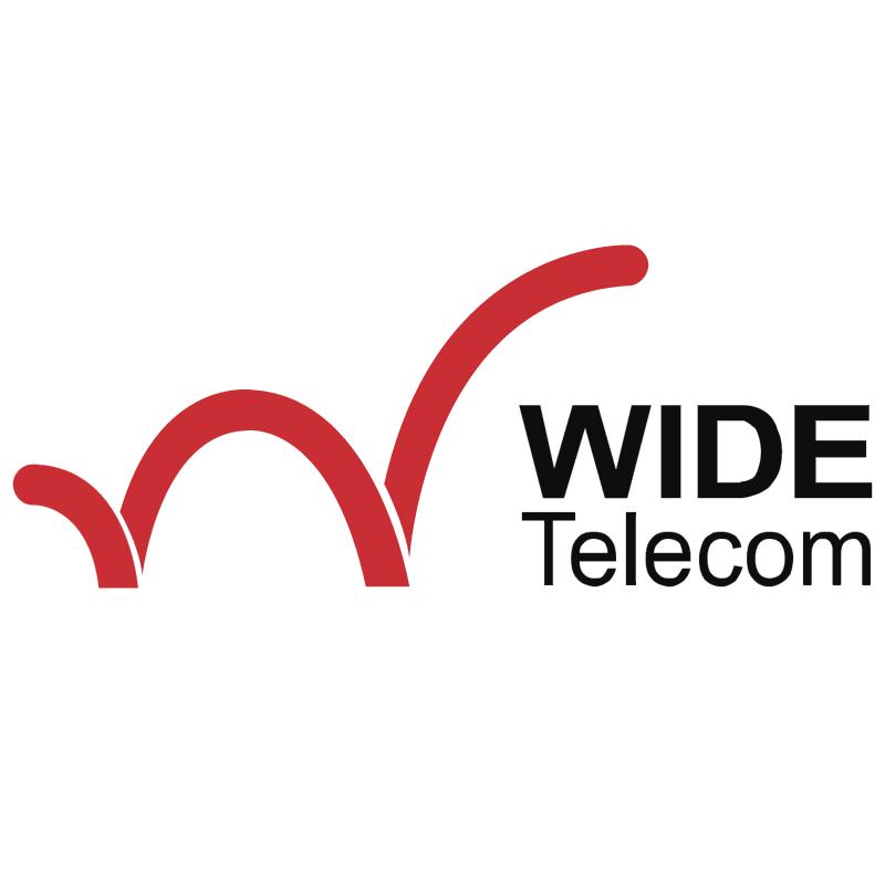 Wide Telecom vector