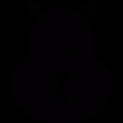 Squirrel Head vector logo