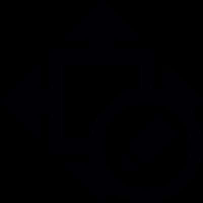 Size edition vector logo