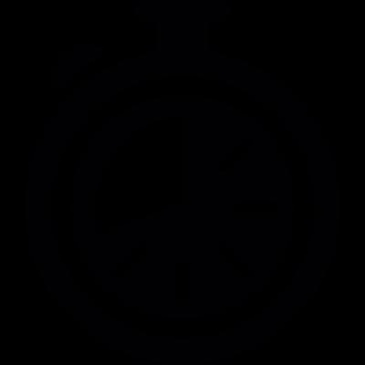 Black Chronometer vector logo