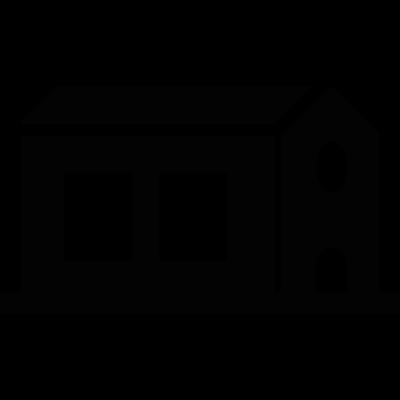 Chapel construction vector logo