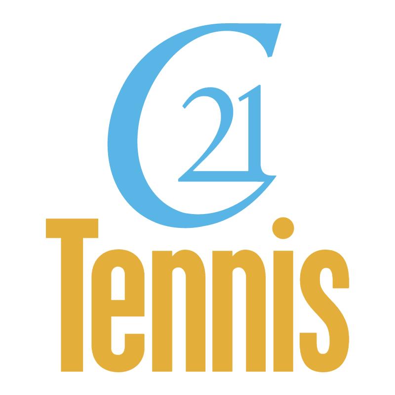 21st Century Tennis vector