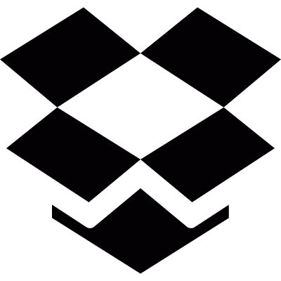 Open cardboard box vector logo