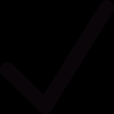 Check sign vector logo