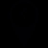 Bicycle Pin vector
