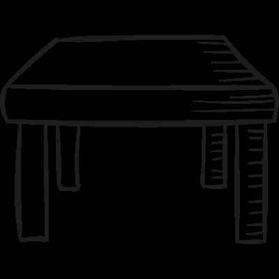Small Table vector logo