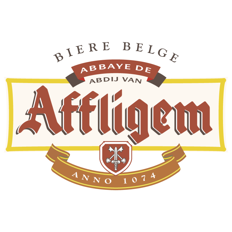 Affligem Beer 545 vector