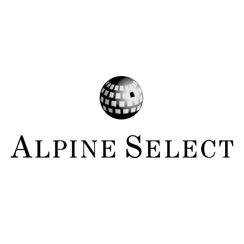 Alpine Select vector