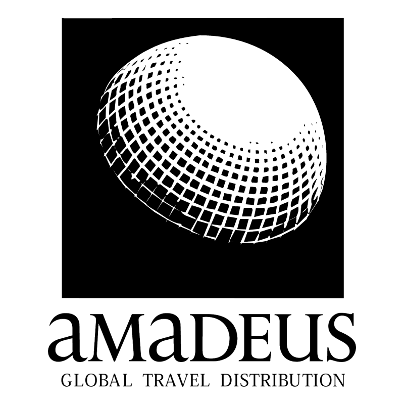 Amadeus Global Travel Distribution vector