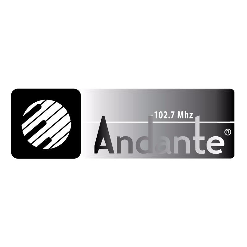 Andante Radio FM vector