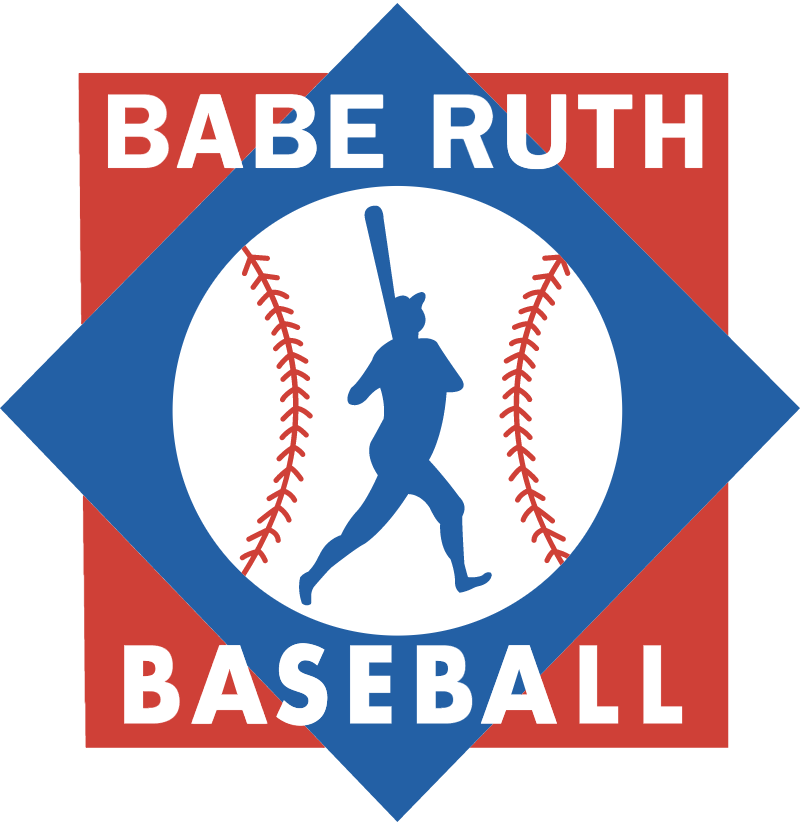 BABE RUTH BASEBALL vector
