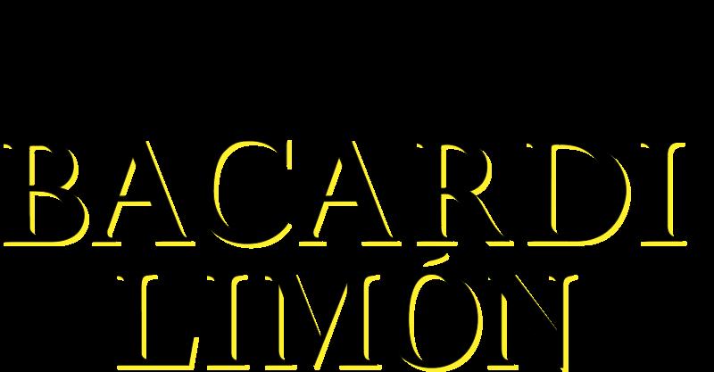 Bacardi Limon vector