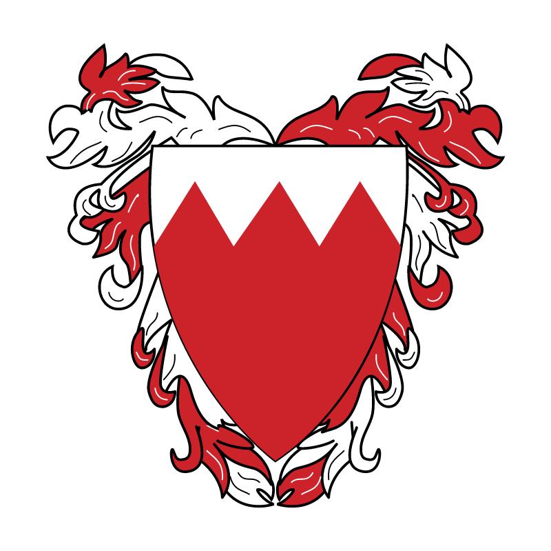 Bahrain 55643 vector