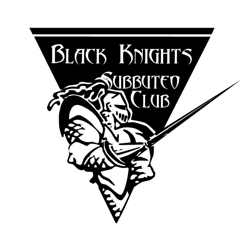 Black Knights Subbuteo Club vector