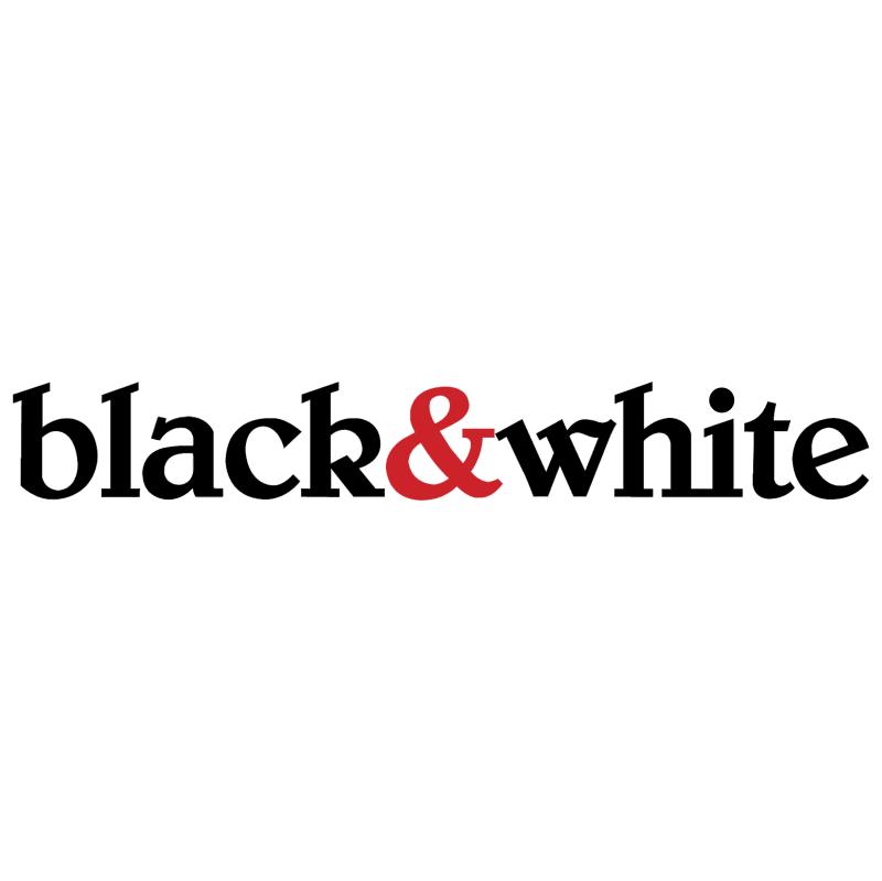 black&white vector