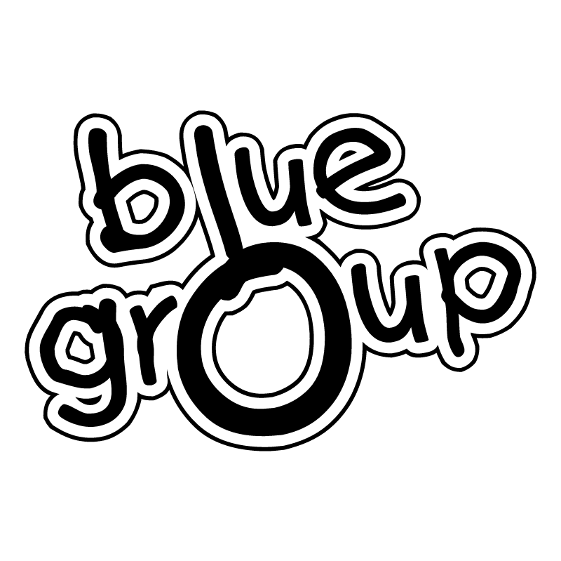 Blue Group vector