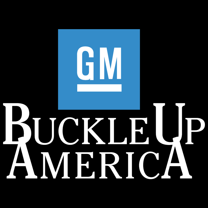 Buckle Up America vector