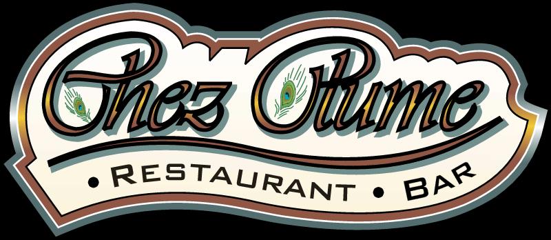Chez Plume logo vector