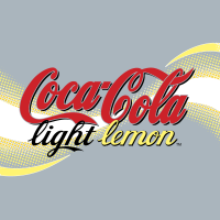 Coca Cola Light Lemon vector