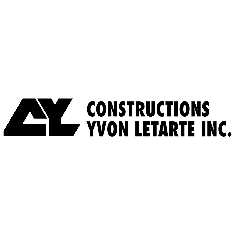 Constructions Yvon Letarte vector