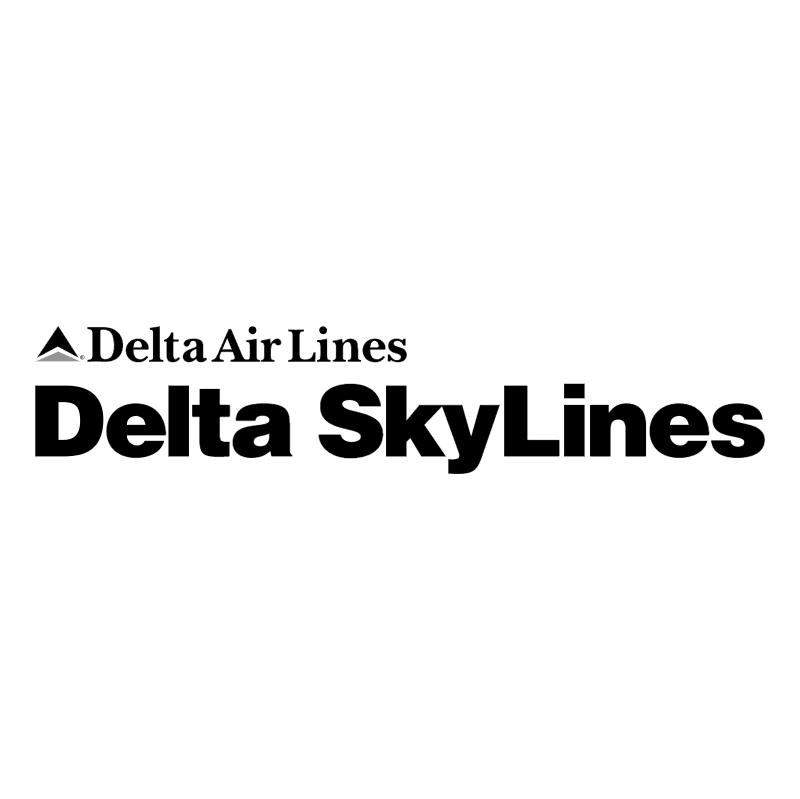 Delta SkyLines vector