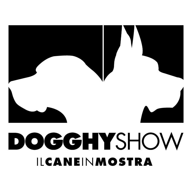 Dogghy Show vector logo