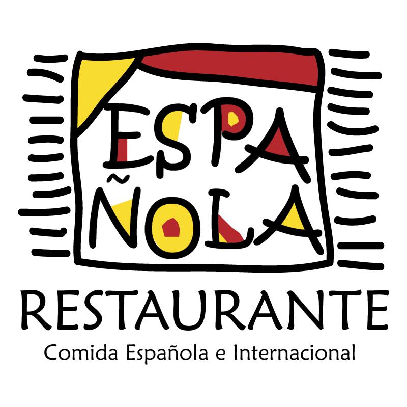 Espanola Restaurante vector