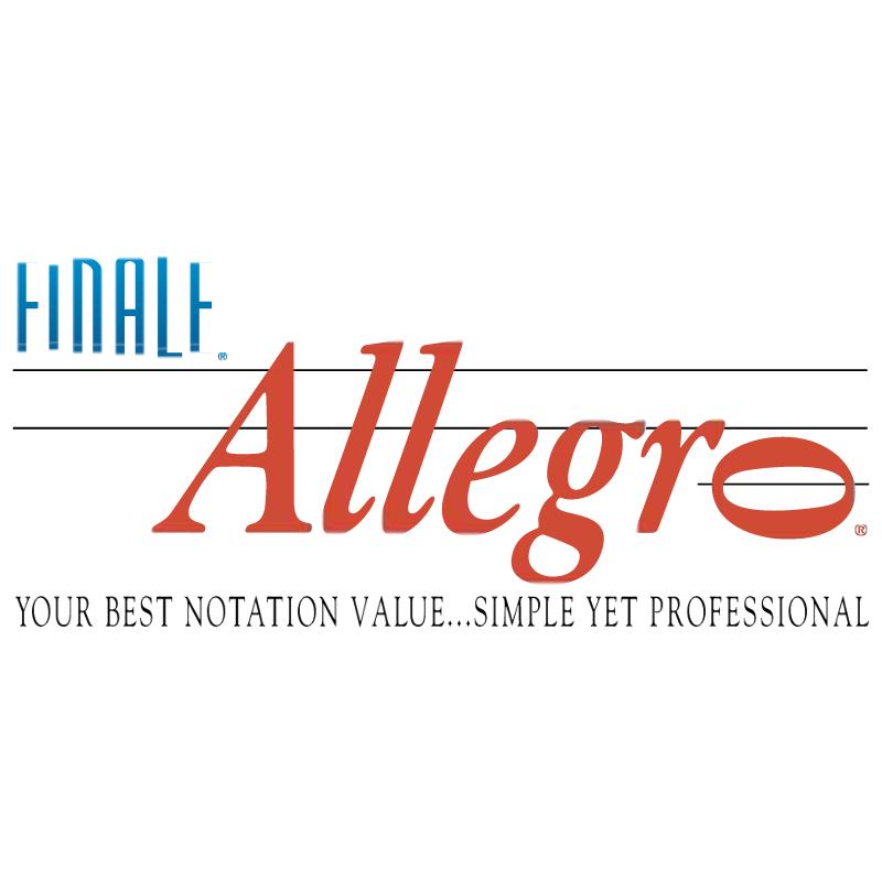 Finale Allegro vector