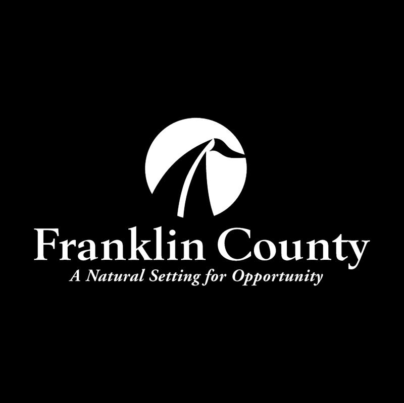 Franklin County vector
