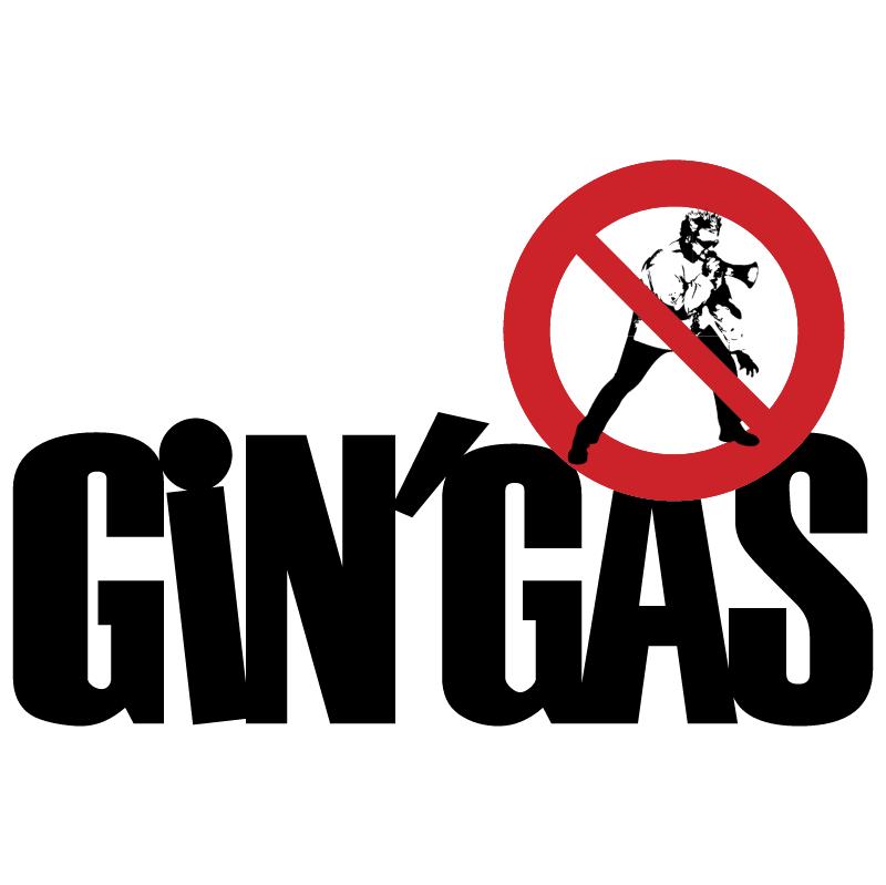 Gin Gas vector logo